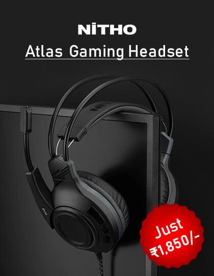 Nitho Atlas Gaming Headset (Black) at Best Price in India