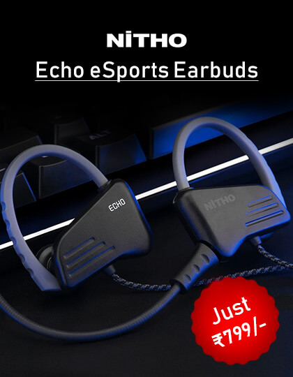 Nitho Echo Earbuds (Black) at Best Price In India