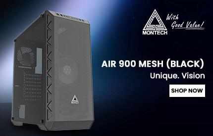 Montech Air 900 Mesh Cabinet (Black)