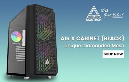 Montech Air X Cabinet (Black)