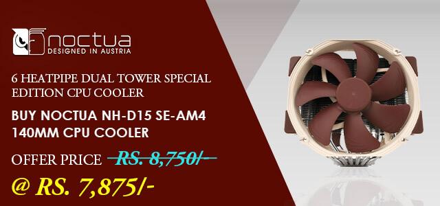 Noctua NH-D15 SE AM4 CPU Air Cooler (For AMD)