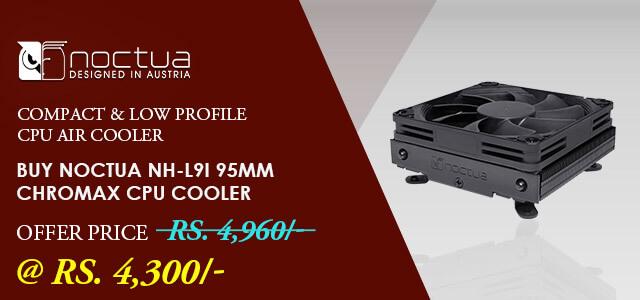 Noctua NH-L9I Chromax Black CPU Air Cooler