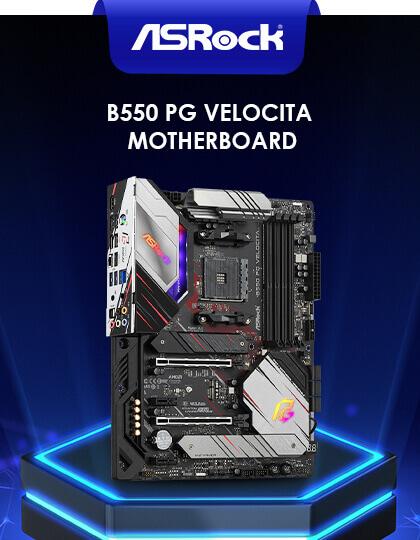 ASRock B550 PG Velocita Motherboard at Best Price in India