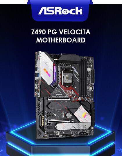 Asrock Z490 PG Velocita Motherboard at Best Price in India