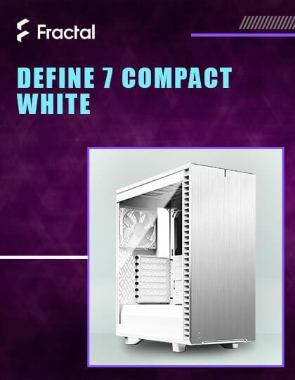 Fractal Design Define 7 Compact Light Cabinet (White) at Best Price in India