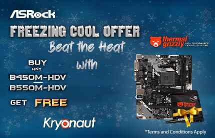 Asrock B450M-HDV And B550M-HDV Mobo Offer
