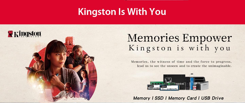 Kingston Brand Page