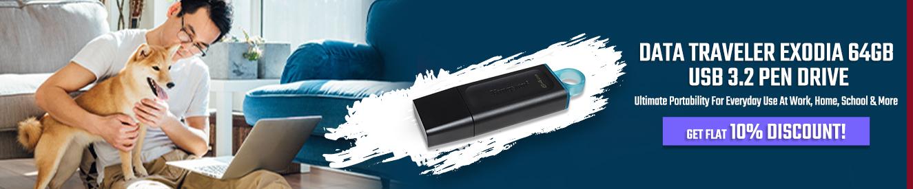 Kingston Data Traveler Exodia 64GB Pen Drive