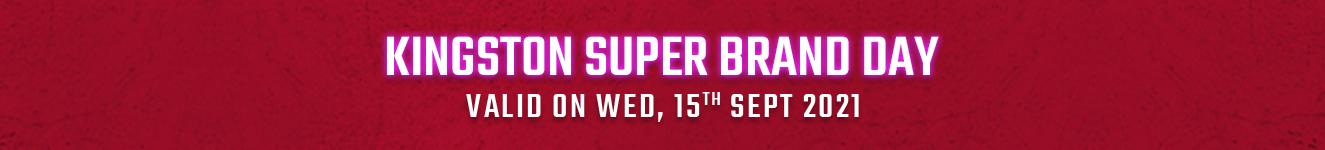 Kingston Super Brand Day Offer