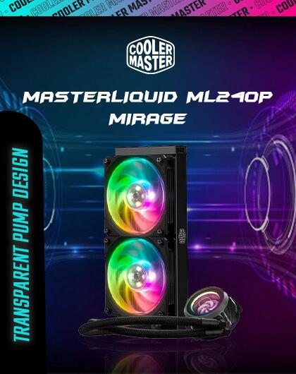 Cooler Master MasterLiquid ML240P Mirage at Best Price In India