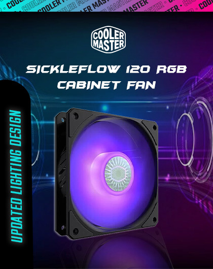 Cooler Master SickleFlow 120 RGB at Best Price In India