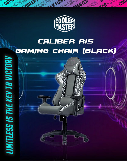 Cooler Master Caliber R1S Camo Gaming Chair (Black) at Best Price in India